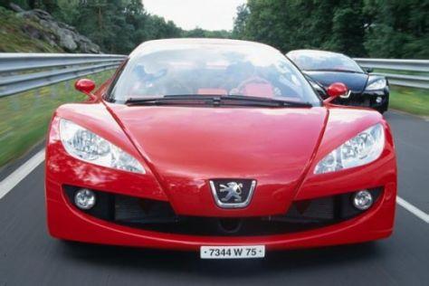Peugeot RC Karo und RC Pik