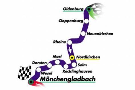 """Tagebuch """"2000 km durch Deutschland"""""""