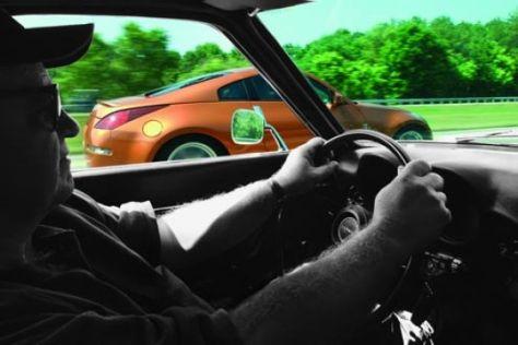 Nissan 350 Z gegen Datsun 240 Z