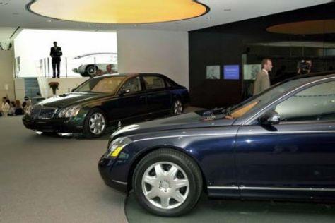 Maybach-Kundenzentrum eröffnet