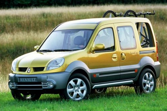 studie renault kangoo break 39 up kangoo als outdoor pick up. Black Bedroom Furniture Sets. Home Design Ideas