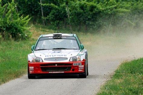 Eine WM-Etappe im Hyundai WRC