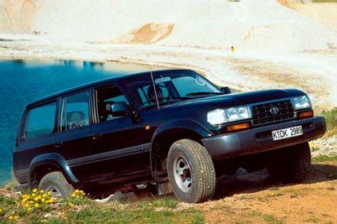 Gebrauchtwagen Test Toyota Land Cruiser Autobild De