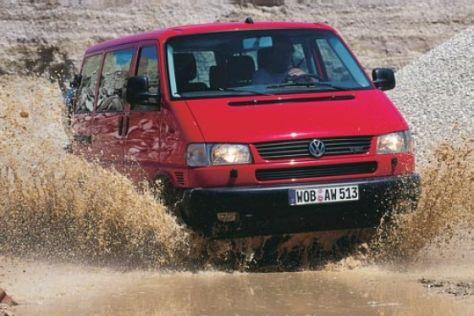 VW T4 Multivan Syncro 2.5 TDI Seikel-Umbau