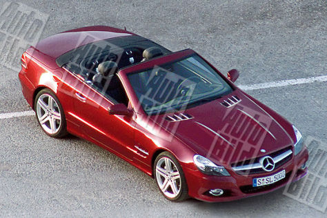 Facelift Mercedes SL 2008