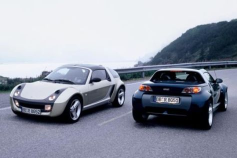 Smart Coupé und Roadster