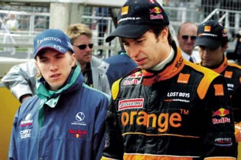Heidfeld und Frentzen 2003 in einem Team