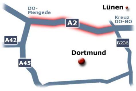 Ausbau der A2 im Ruhrgebiet