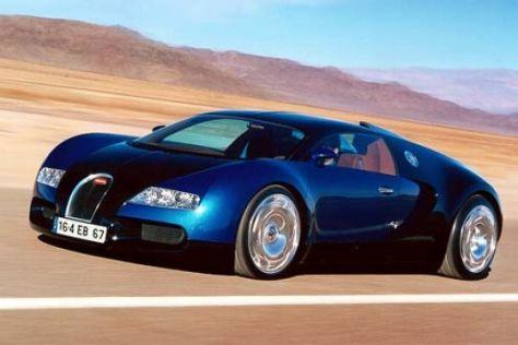 Grundsteinlegung für Bugatti-Werk