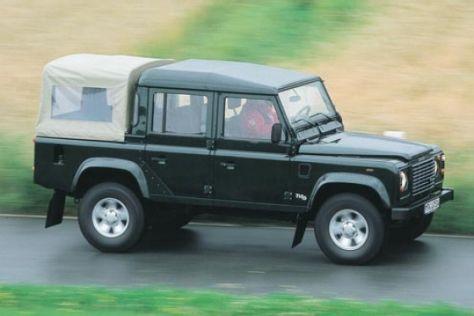 Land Rover Defender 110 Td5 Crew Cab