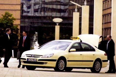 Peugeot 607 als Taxi