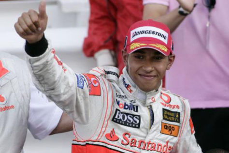 Formel 1: Interview mit Lewis Hamilton