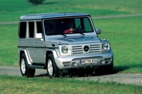 Mercedes G 400 CDI von Lorinser