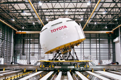 Fahrsimulator von Toyota
