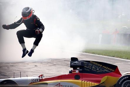A1 GP-Champion Nico Hülkenberg ist nach Rang drei in der Formel-3-Euroserie in der Königsklasse gelandet.