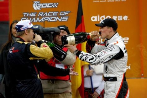 Michael Schumacher, Mattias Ekström