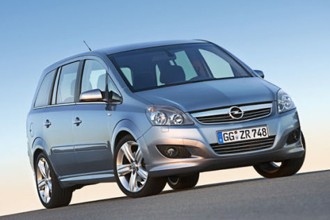 Opel Zafira Modelljahr 2008