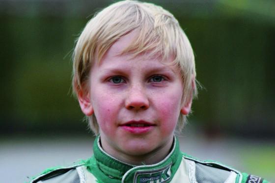 Marek Böckmann, 11 Jahre, kann es kaum erwarte. Die Formel 1 ist jetzt schon sein erklärtes Ziel.