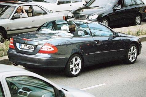 Weltpremiere Mercedes CLK auf dem Genfer Salon