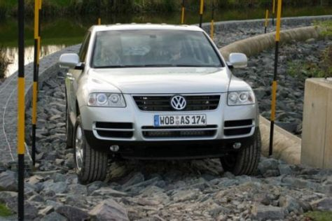 VW-Gelände-Parcours