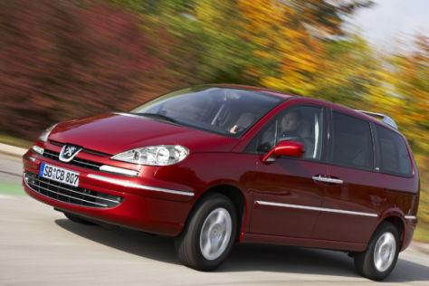 Facelift für den Peugeot 807