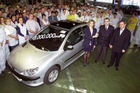Produktionsrekord bei Peugeot