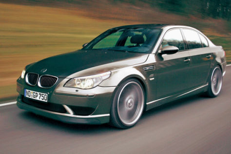 Getunter 5er BMW M5 Hurricane von G-Power