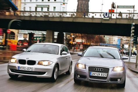 1er BMW 116i gegen Audi A3 Sportback 1.4 TFSI