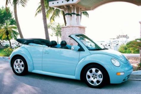 VW New Beetle Cabrio