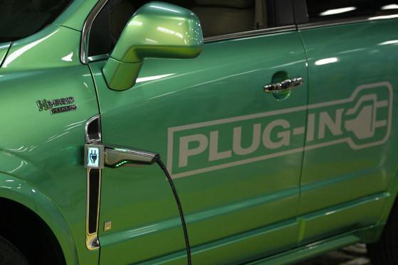 Saturn Vue Green Line Plug-in Hybrid