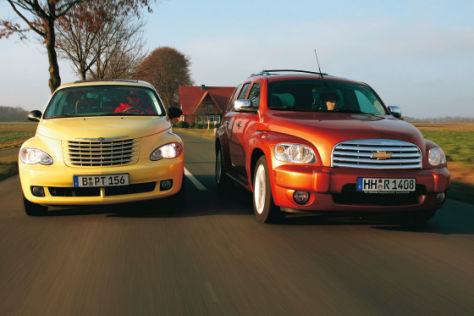 Chevrolet HHR Chrysler PT Cruiser