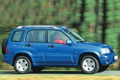 Suzuki Grand Vitara 2.0 Viertürer