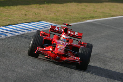 Ferrari F2008, Kimi R&auml;ikk&ouml;nen