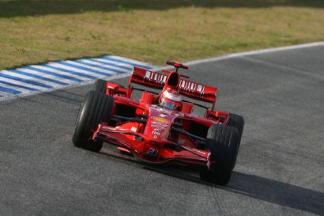 Ferrari F2008, Kimi Räikkönen