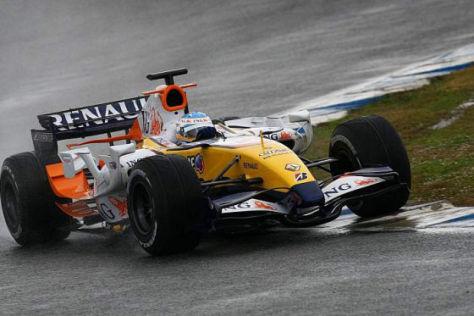 Fernando Alonso Renault F1 2008