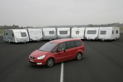 ADAC-Vergleichstest Wohnwagen 2008