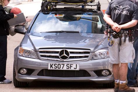Mercedes C-Klasse im Film