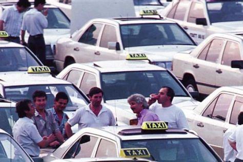 Taxifahrer in der Kritik