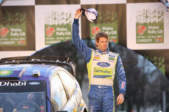 Nach zwei Rallye-WM-Titlen und als amtierender WRC-Vize-Weltmeister hat Marcus Grönholm 2007 seine aktive Laufbahn beendet.