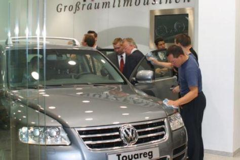 Erster VW-Touareg-Diebstahl