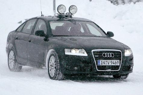 Erlkönig Audi A6 (Facelift)