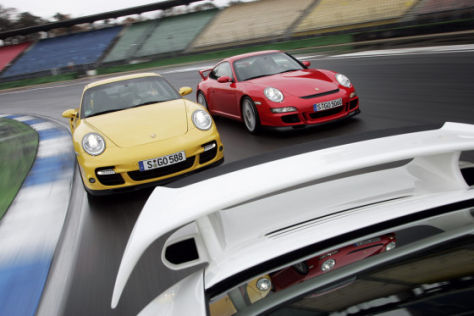 Porsche 911 GT2 GT3 Turbo