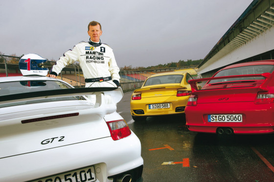 Porsche 911 GT2 GT3 Turbo Walter Röhrl