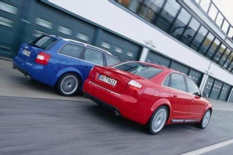 Audi S4 Limousine und Avant