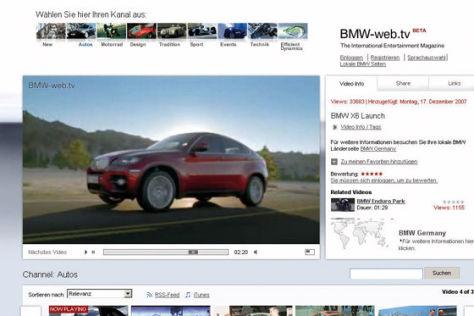 BMW Web-TV Screenshot