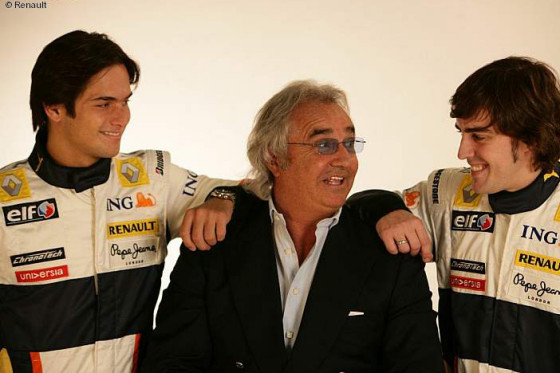 Piquet jun., Briatore, Alonso