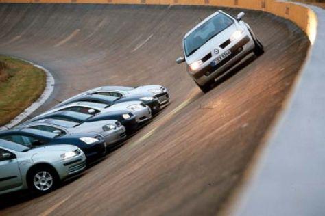 Der neue Mégane gegen sieben Kompakte