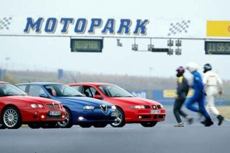 Alfa 156 GTA, MG ZT, Seat León 2.8 V6 Top Sport 4