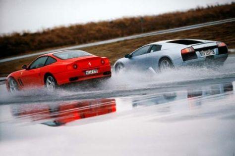 Ferrari trifft Lamborghini