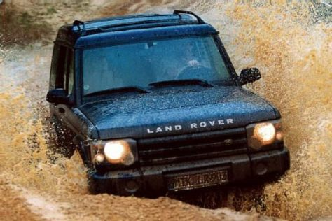 Land Rover Discovery V8 HSE